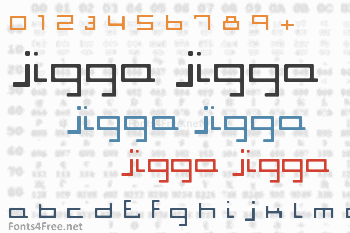 Jigga Jigga Font