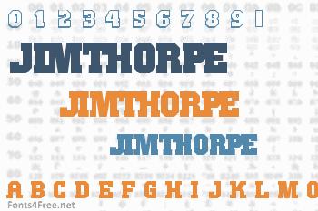 JimThorpe Font
