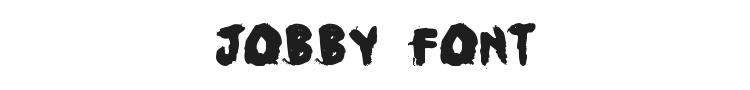 Jobby Font