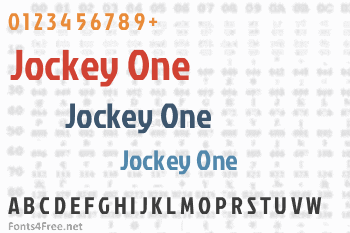 Jockey One Font