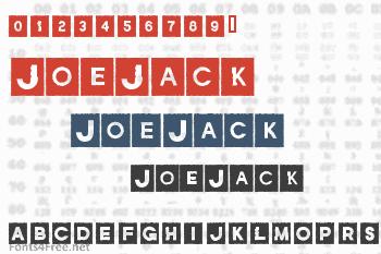 JoeJack Font