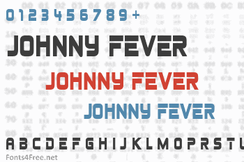 Johnny Fever Font