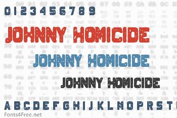Johnny Homicide Font