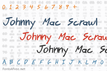 Johnny Mac Scrawl Font