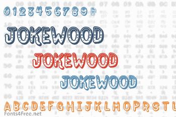 DOWNLOAD FONT JOKEWOOD