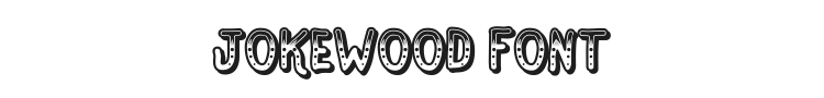 Jokewood Font Preview