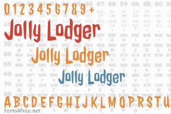 Jolly Lodger Font