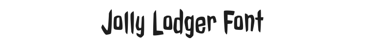 Jolly Lodger Font Preview
