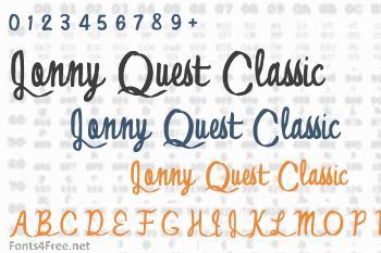 Jonny Quest Classic Font