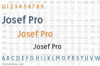 Josef Pro Font