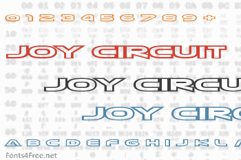 Joy Circuit Font