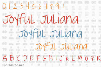 Joyful Juliana Font