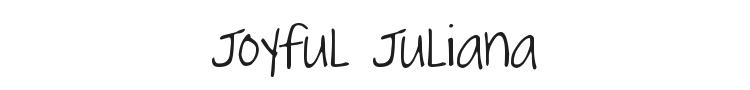 Joyful Juliana Font