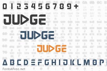 Judge Font