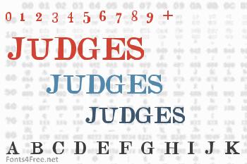 Judges Font