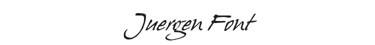 Juergen Font Preview