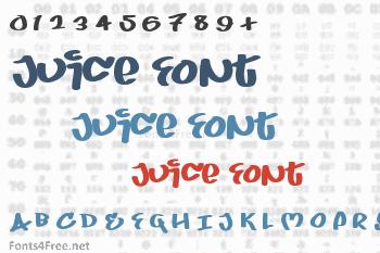 Juice Font
