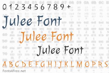 Julee Font