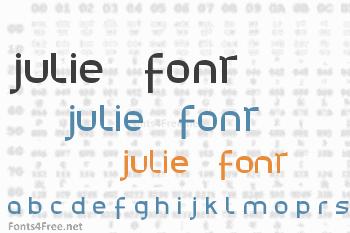 Julie01 Font