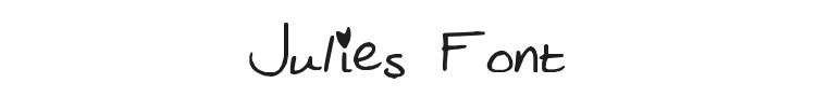 Julies Font
