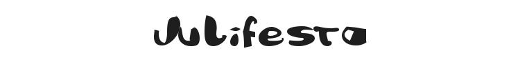 Julifesta Font