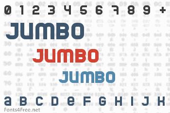 Jumbo Font