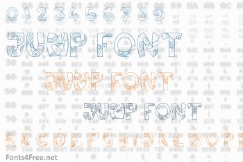 Jump Font