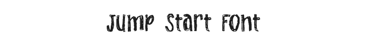 Jump Start Font Preview