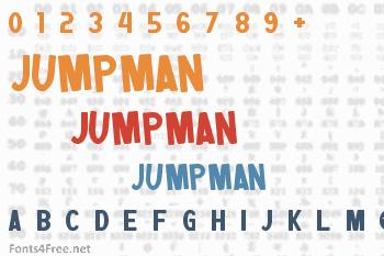 Jumpman Font