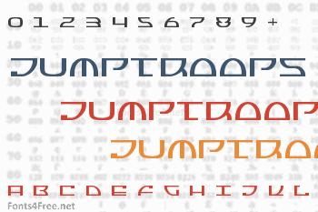 Jumptroops Font