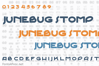Junebug Stomp Font