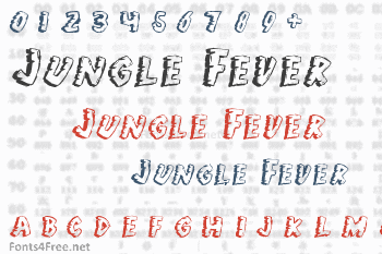 Jungle Fever Font