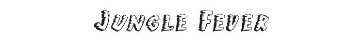Jungle Fever Font Preview