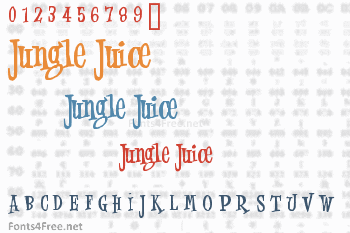 Jungle Juice Font