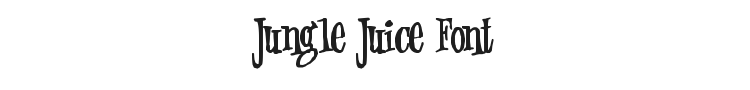 Jungle Juice Font Preview