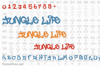 Jungle Life Font