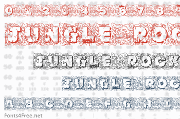 Jungle Rock Font