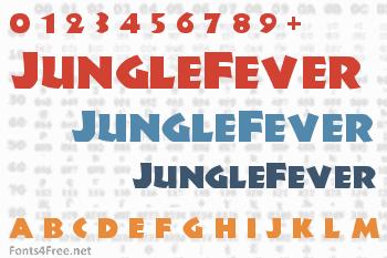 JungleFever Font