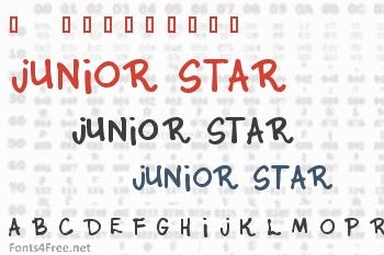 Junior Star Font