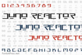 Juno Reactor Font