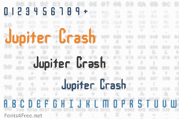 Jupiter Crash Font