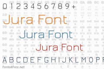 Jura Font