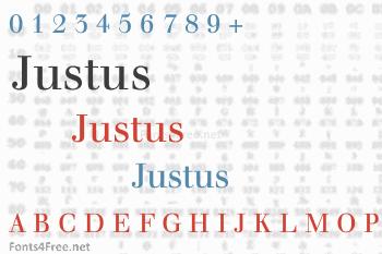 Justus Font