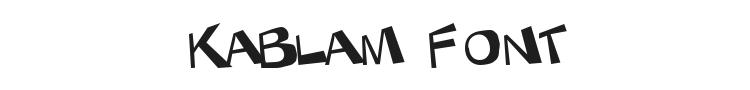 KaBlam  Font Preview