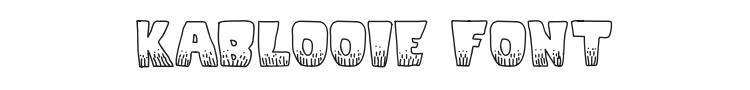 KaBlooie Font Preview