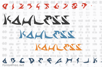Kahless Font