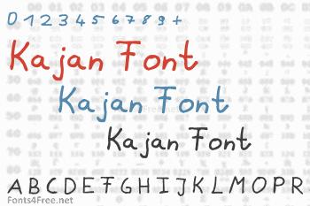 Kajan Font
