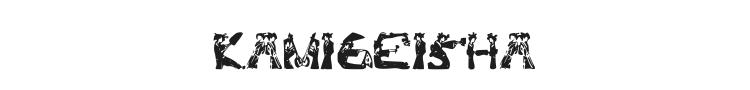 Kami-Geisha Font Preview