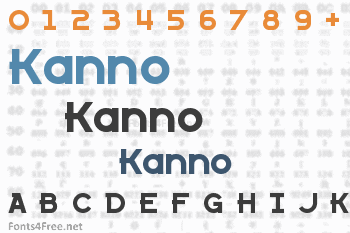 Kanno Font
