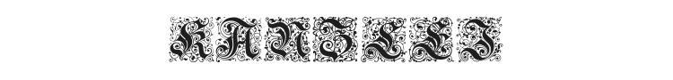 Kanzlei Initialen Font